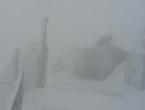 VIDEO: Na vrhu Biokova bjesni prava snježna oluja