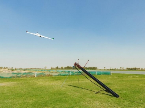 Pomoću dronova izazvali obilnu kišu da rashlade grad