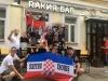 Srpski navijači na SP-u hvale se trofejem