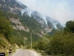 Požar na Čvrsnici: Najavljena intervencija helikoptera