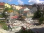 Rušenjem objekata bez važeće dokumentacije u Prozoru kreće rekonstrukcija ulica