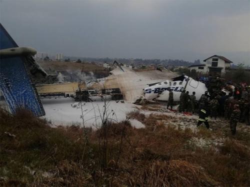 Srušio se avion u zračnoj luci u glavnom gradu Nepala
