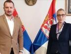 Ministar pravde BiH Josip Grubeša u službenoj posjeti Ministarstvu pravde Republike Srbije