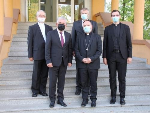 Herceg razgovarao s biskupom Petrom Palićem