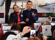 Papa Franjo vjenčao par u zrakoplovu