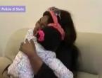 Majka izbjeglica nakon pet mjeseci zagrlila svoju 4-godišnju kćer