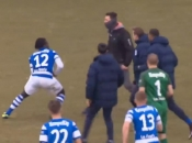 Huligani preskočili ogradu i napali nogometaše, pa dobili batina
