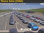 Kolone na graničnim prijelazima prema Hrvatskoj, čeka se više od sat vremena