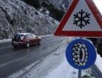 Zbog niskih temperatura mjestimično poledica na cestama