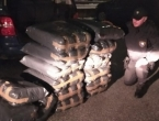 Kod Konjica oduzeto 280 kg duhana