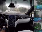 Ovako izgleda vožnja u Teslinom autonomnom automobilu