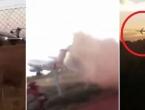 VIDEO: Snimljen pad Boeinga, jedva poletio