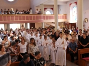Župa Prozor: Dan posvete župne crkve i susret duhovnih zvanja