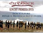 Čuvarice organiziraju koncert i premijeru spota 'Opadaj lišće'