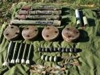 Na Makljenu pronađene tenkovske mine i 1,5 kg eksploziva