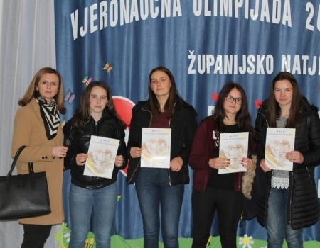 FOTO: Predstavnici ramskih škola na Vjeronaučnoj olimpjiadi 2019.