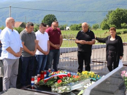 FOTO: Obilježena 27. obljetnica pogibije Šimuna Fofića Fofe