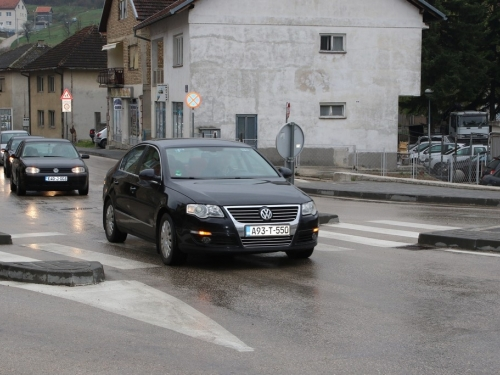 FOTO: Prosvjedna vožnja građana Prozora - Rame