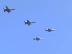 Srušio se belgijski F-16, pilot ostao visiti na elektrovodu