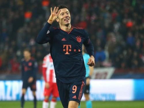 Lewandowski oborio tri rekorda
