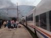 Zapalio se putnički vlak u Konjicu