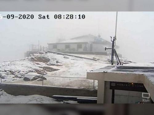 Prvi snijeg ove sezone zabijelio BiH vrhove planina