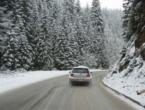 Otežan promet zbog ugaženog snijega na cestama