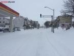 U Tomislavgradu akcija utovara i odvoza snijega