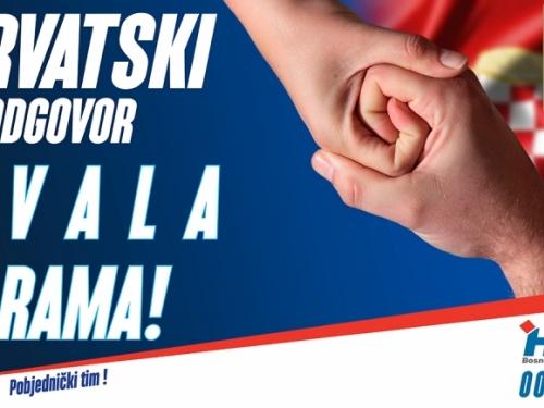 OO HDZ BiH Rama: Hvala Rama!