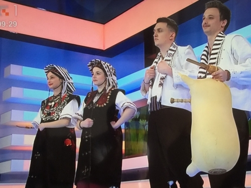 FOTO: HKUD ''Rama'' i Vladimir Kuraja gostovali na HRT-u