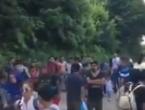 Migranti prisilno pokušavaju preći granicu BiH