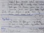 Pronašli božićno pismo dječaka preminulom ocu, internet u potrazi za dječakom
