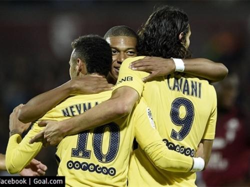 Krenuo 'atomski' PSG: Neymar, Mbappe i Cavani demolirali Metz