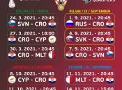 I Vatreni saznali raspored utakmica u kvalifikacijama