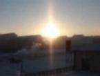 Tri sunca na nebu iznad Mongolije
