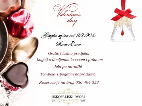 Valentinovo u ''Uskopaljskim dvorima''