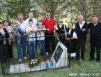 Foto: Na Blidinju služena misa za Geganovog sina Vinka Sičaju
