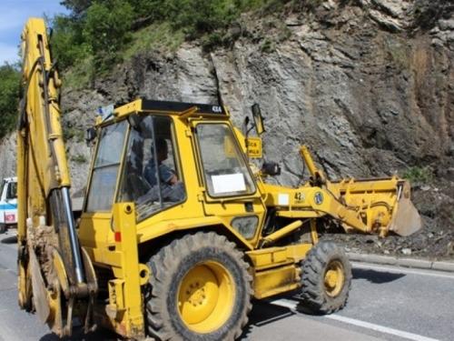 Jablanica: Otežan promet zbog radova na cesti