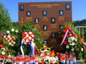 Otkriveno spomen-obilježje za 13 poginulih pripadnika Brigade kralja Tomislava