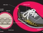 Stvorena tenisica koja koračanjem proizvodi struju