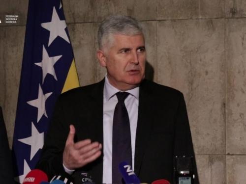 Čović objavio prioritete