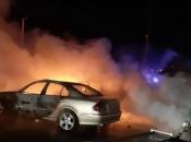 Vitez: U autokući izgorjelo više automobila