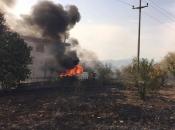 Požar ugrozio kuće i imovinu stanovnika na Ortiješu
