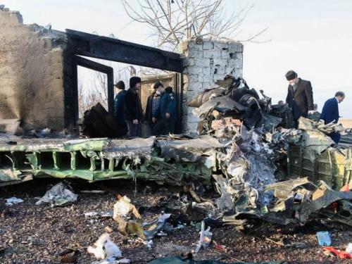 Ukrajinski zrakoplov sa 180 putnika srušio se u Iranu
