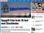 Dojava iz Iraka: Švedska na nogama zbog najavljenog napada