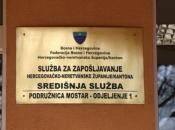 U HNŽ-u u travnju otkaz dobio 2331 radnik