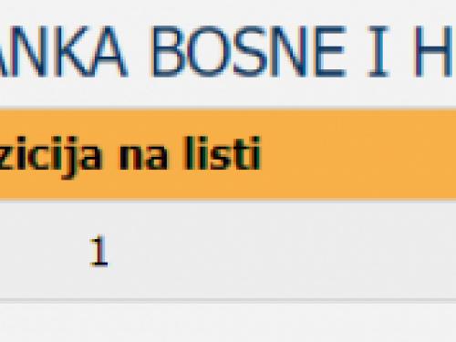 Prvi službeni rezultati izbora za općinu Prozor-Rama