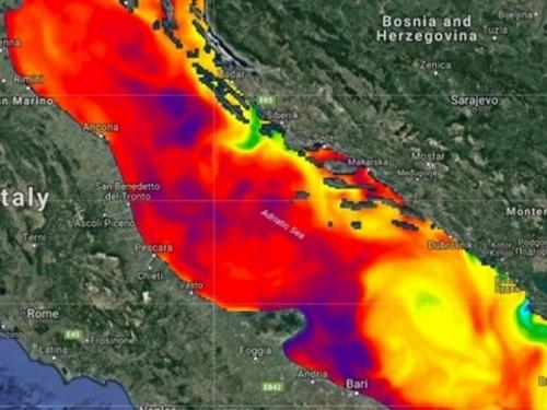 Jadransko more ključa: Ekstremno topla temperatura mora