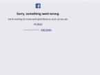 Na kratko se srušili Facebook i Instagram