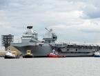 VIDEO: Isplovio najveći ratni brod u povijesti britanske mornarice
